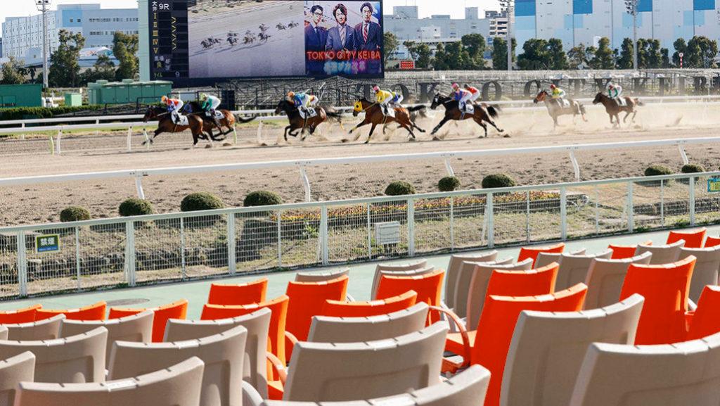 Horse Racing corona virus